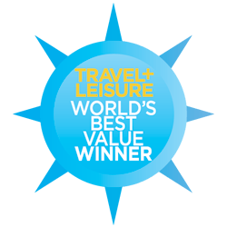 Travel and Leisure World's Best Value Winner