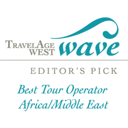 TravelAge West Wave Best Tour Operator Africa/Middle East