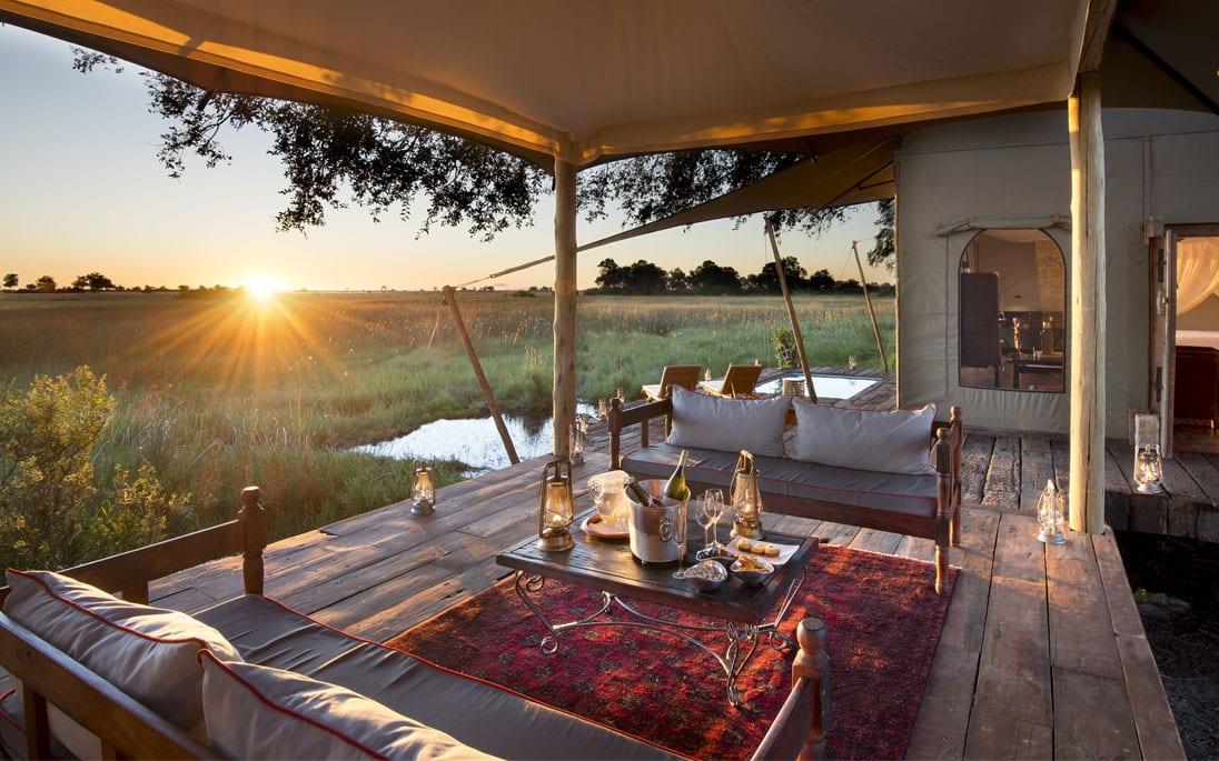 Deck during safari