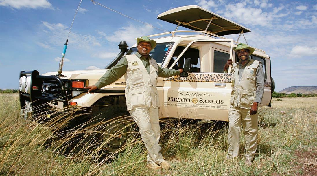 Micato Safari Vechile Drivers