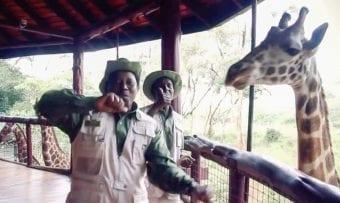 Micato Happy Video with Giraffe