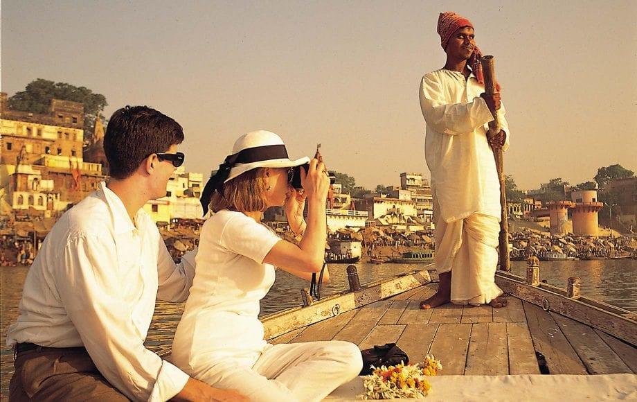 People Visiting Varanasi