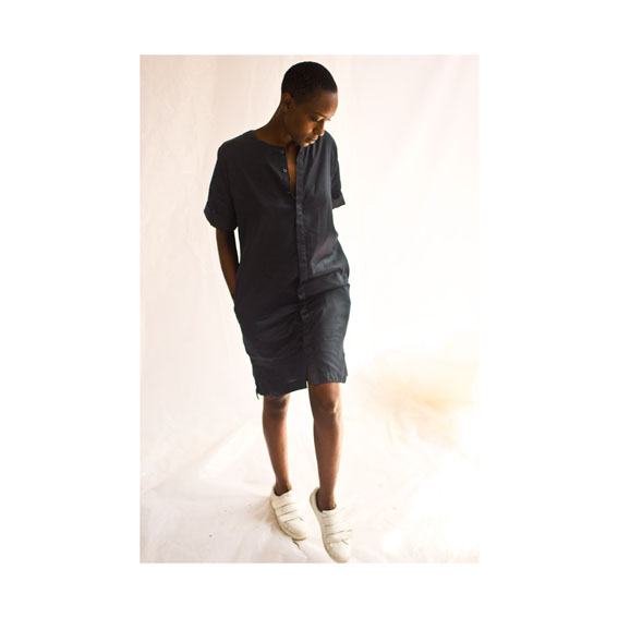 katungulu mwendwa knee length grey dress