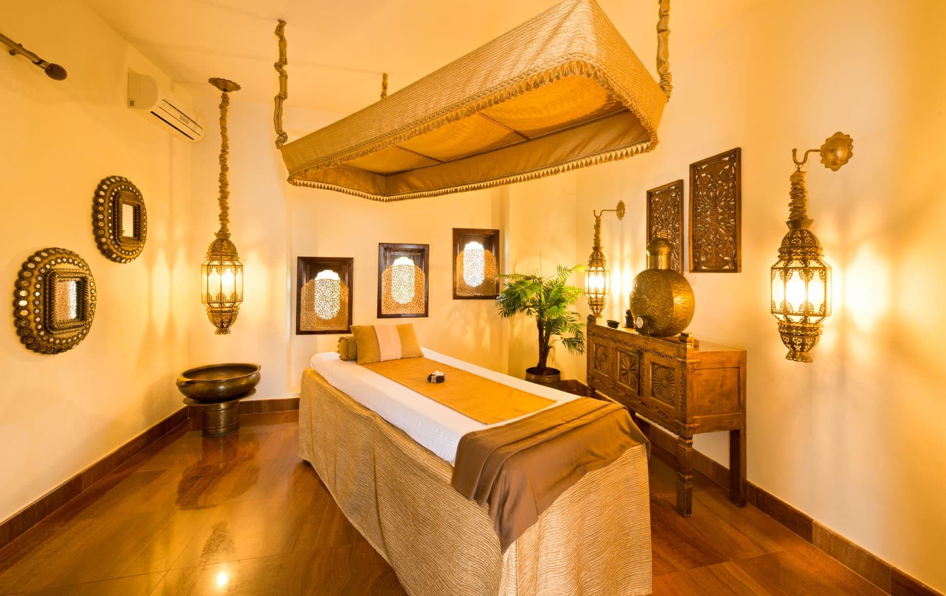 Massage room at Baraza Resort & Spa