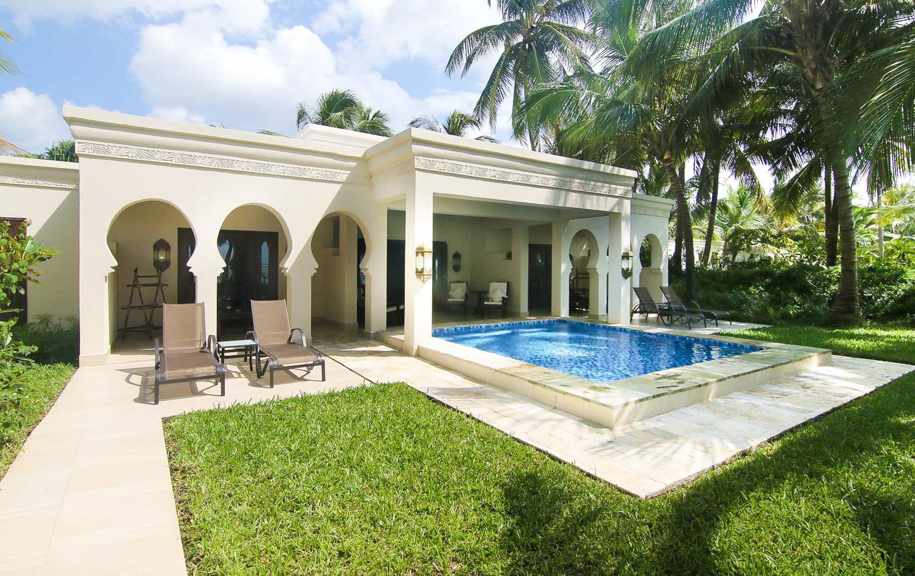 Small pool area at Baraza Resort & Spa