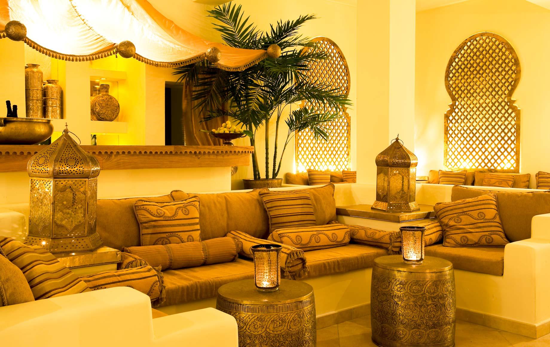 Interior seating area at Baraza Resort & Spa