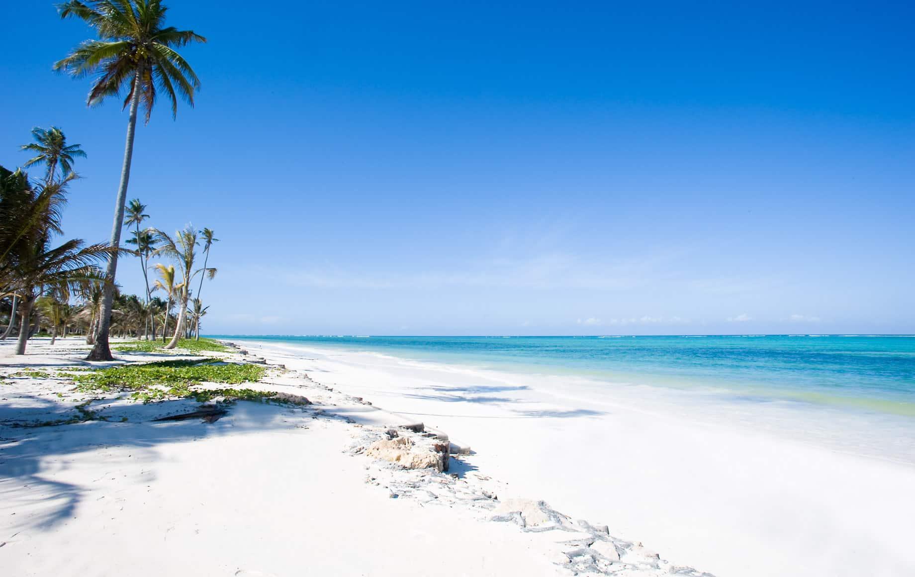 Zanzibar beach near Baraza Resort & Spa