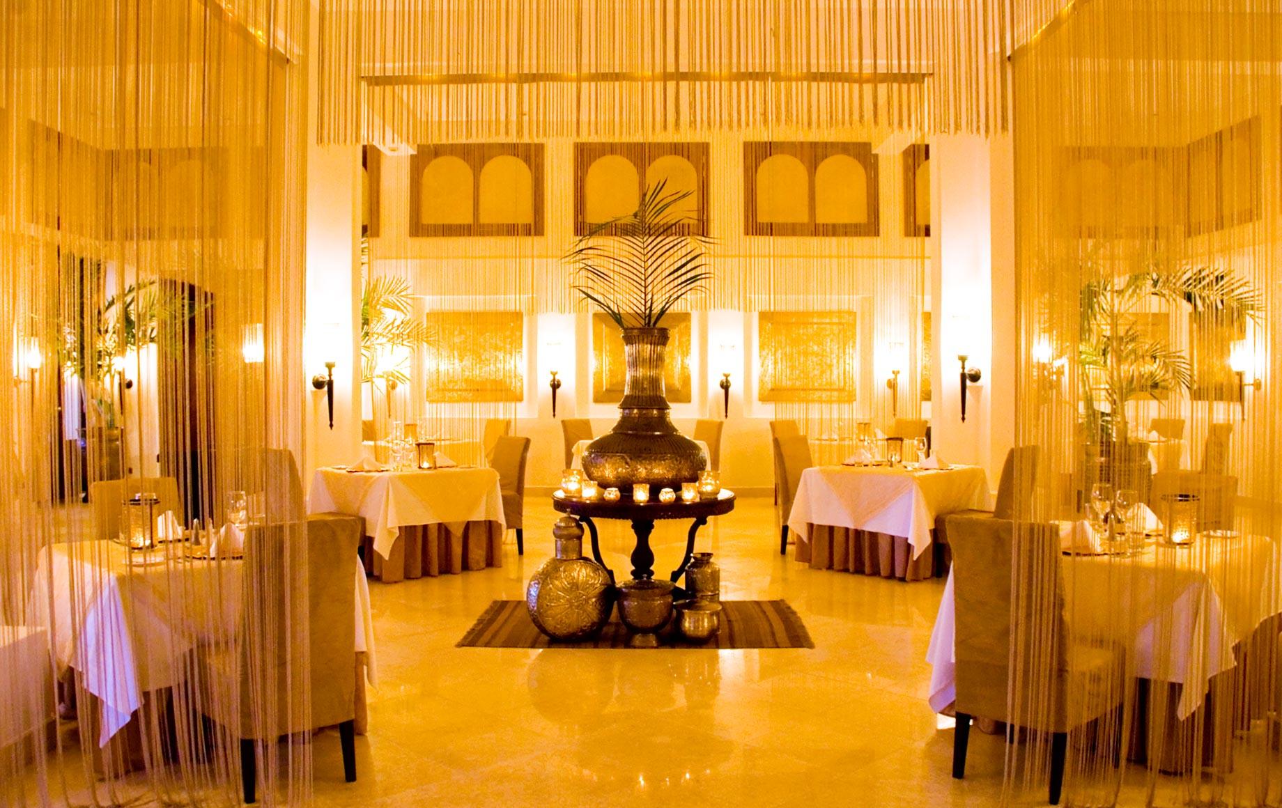 Interior dining area of Baraza Resort & Spa