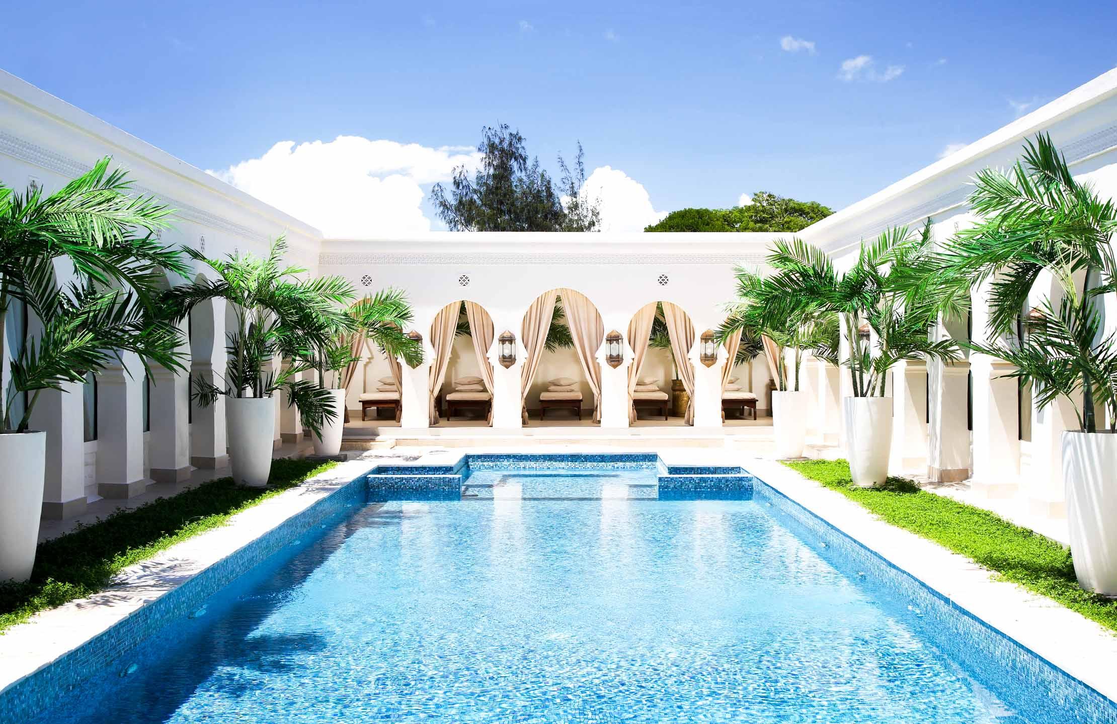 Outdoor pool at Baraza Resort & Spa
