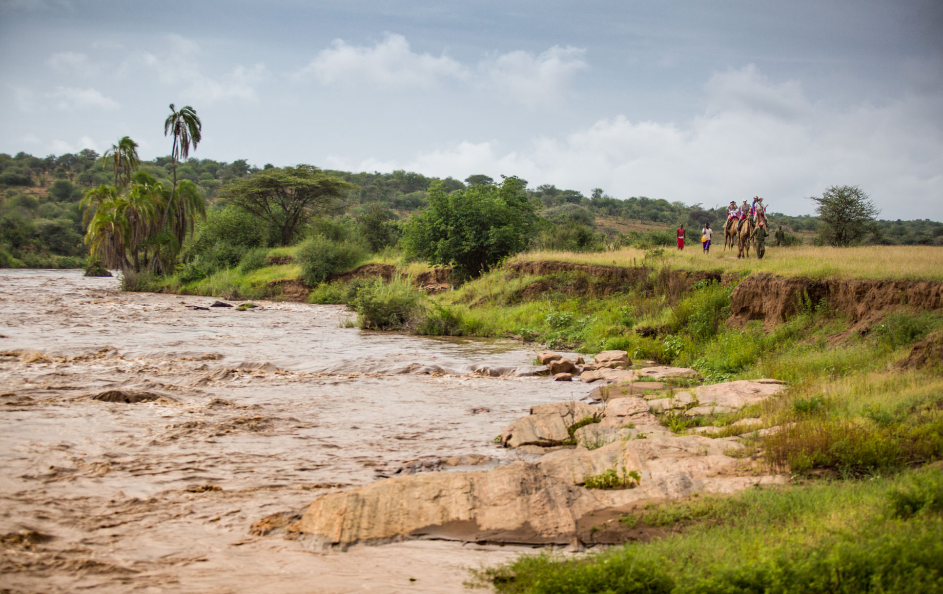 River and plains of Loisaba Conservancy
