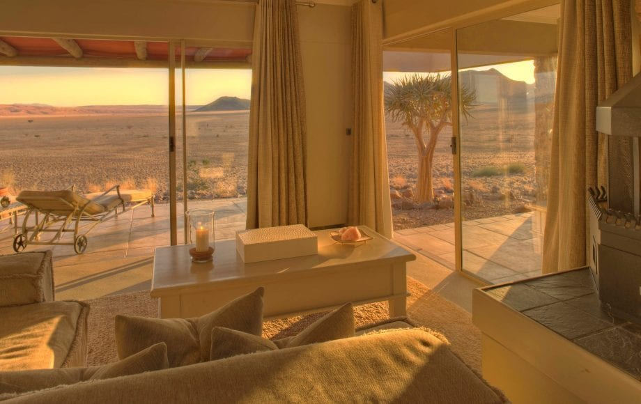 Another view of the desert from the bedroom