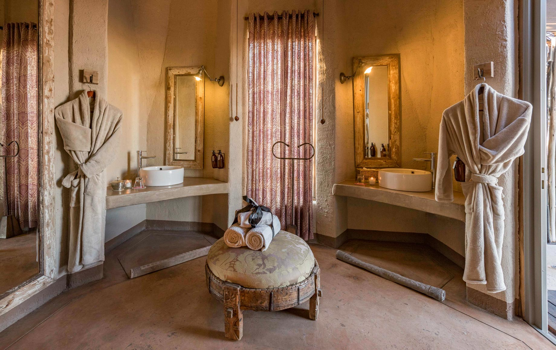 Bathroom interior of Onguma the Fort