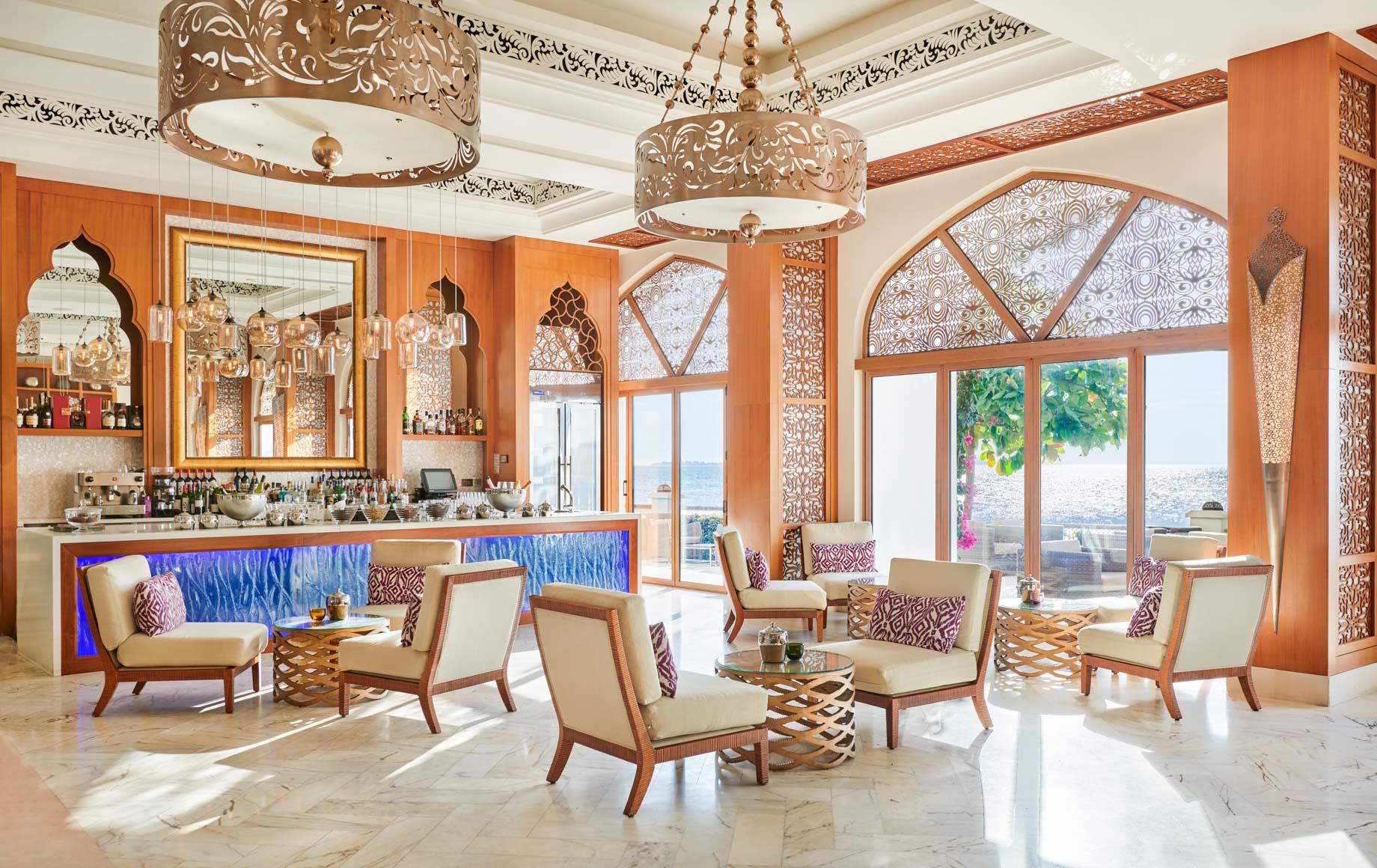 Interior lounge area of Park Hyatt, Zanzibar