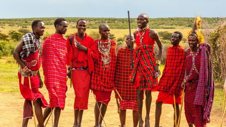 maasai mara tribes people