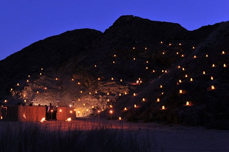 Candles at Moon Valley