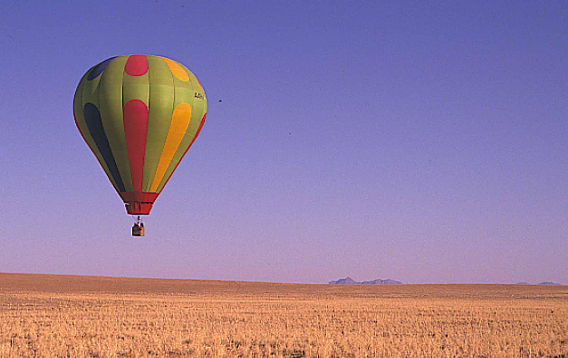 Hot air ballooon
