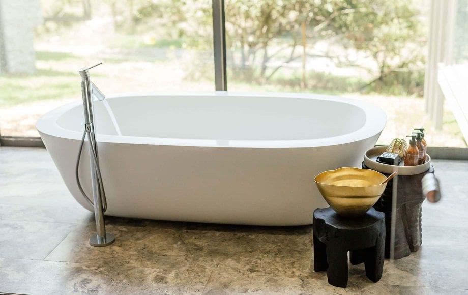 A bathtub