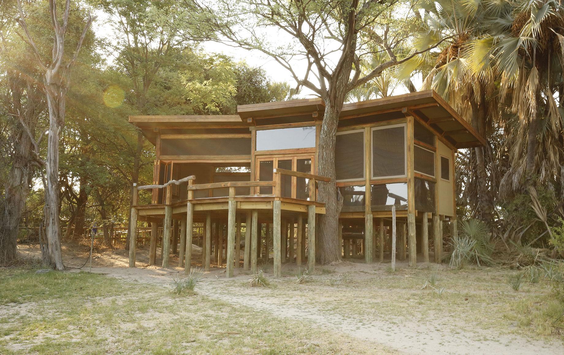 Exterior of Camp Okavango