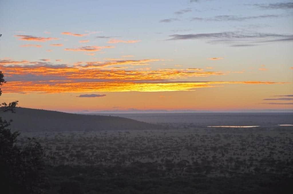 firey skies above kenya by Tom Cole