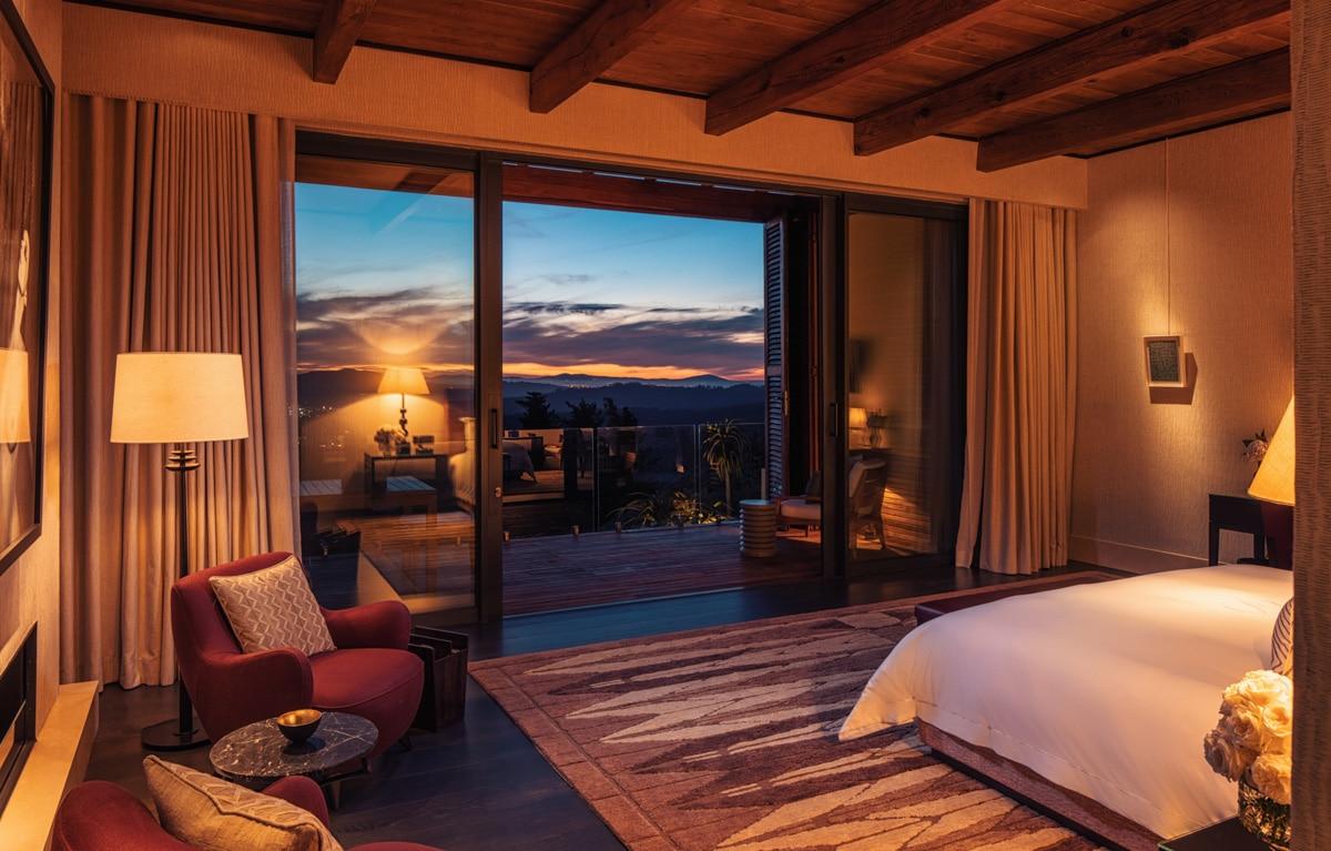Bedroom Night View