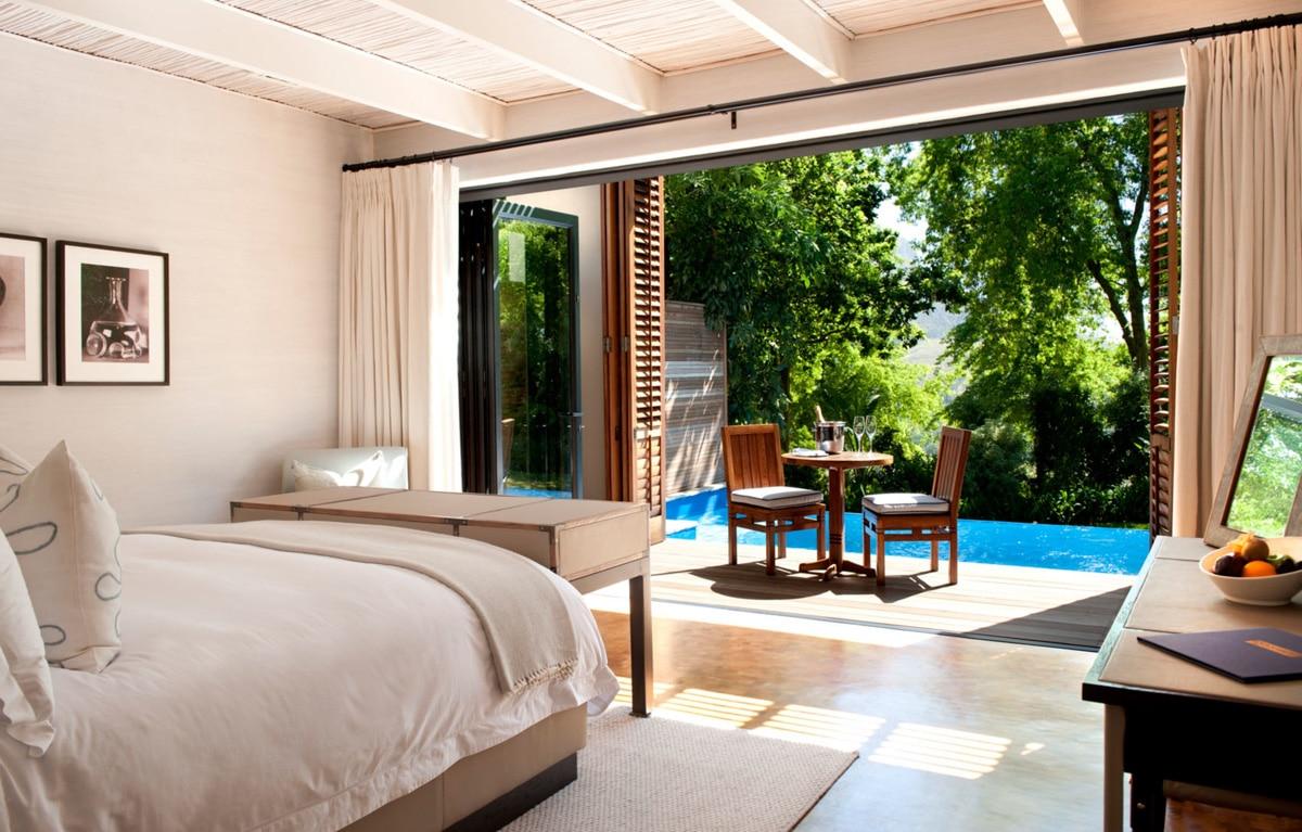 Bedroom Pool View