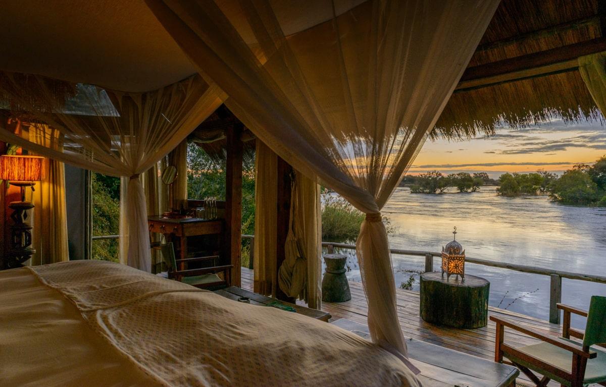 Bedroom River View