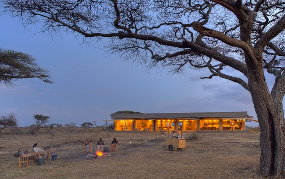 Namiri Plains at dusk