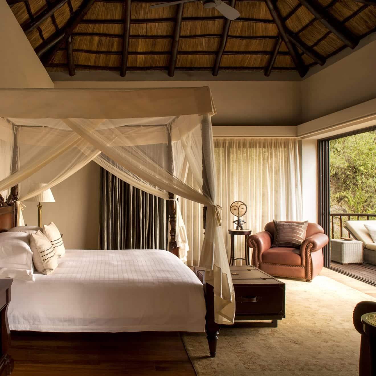 a bedroom at The Villas at Four Seasons Serengeti