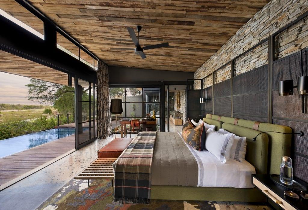 bedroom at tengile river lodge