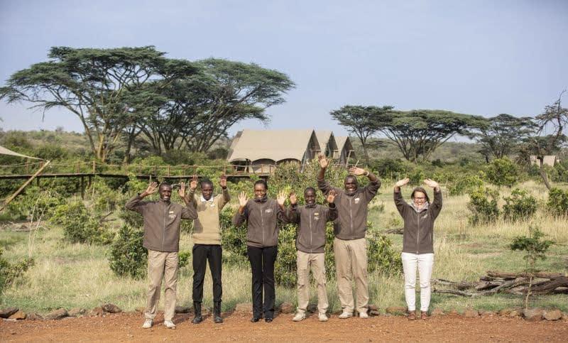 staff in kenya