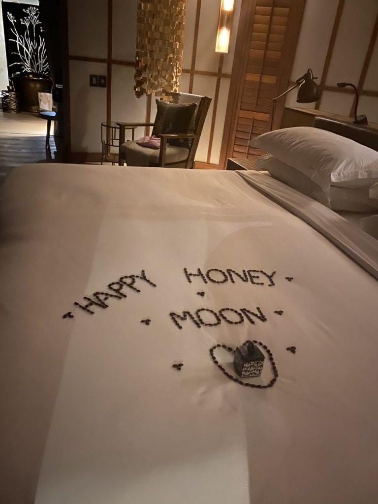 happy honeymoon message