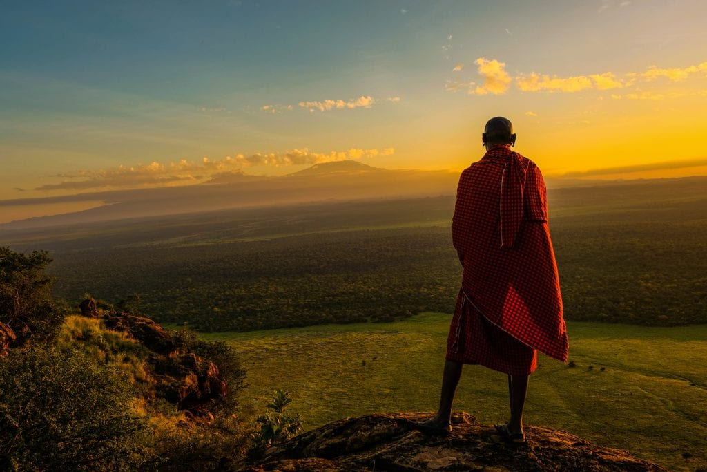 maasai tribesman traditional clothing