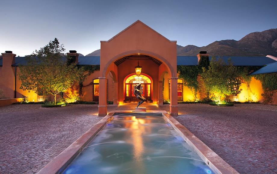 Pool at La Residence