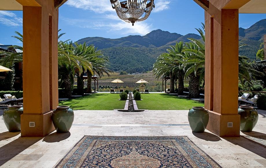 Courtyard at La Residence