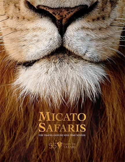 Micato Safaris 2022 brochure